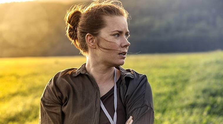 The completely robbed Amy Ad- I mean, Dr. Louise Banks, the brilliant linguist who is able to communicate and possibly broker peace with aliens.
