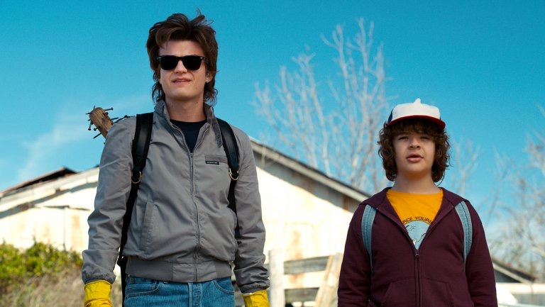 Let's be real- Steve & Dustin are the best pairing since pizza and ranch dressing.