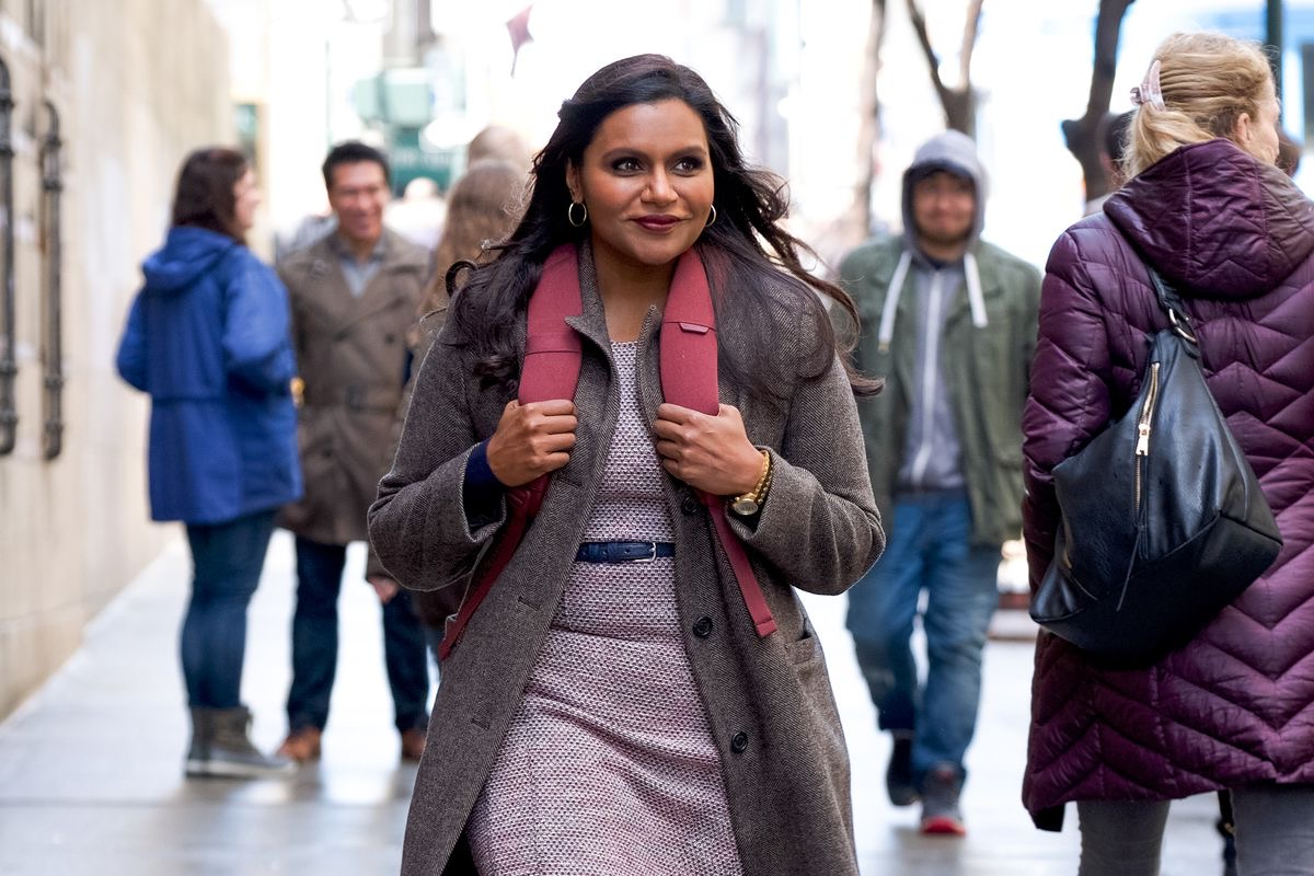 She's gonna make it after all! Mindy Kaling (Late Night)