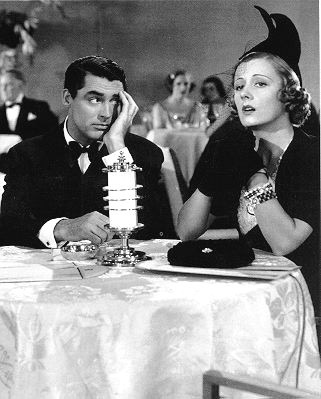 Cary Grant & Irene Dunn in The Awful Truth