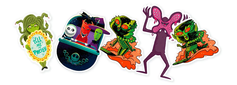 Monster Mash Sticker Pack by Slaptastick.png