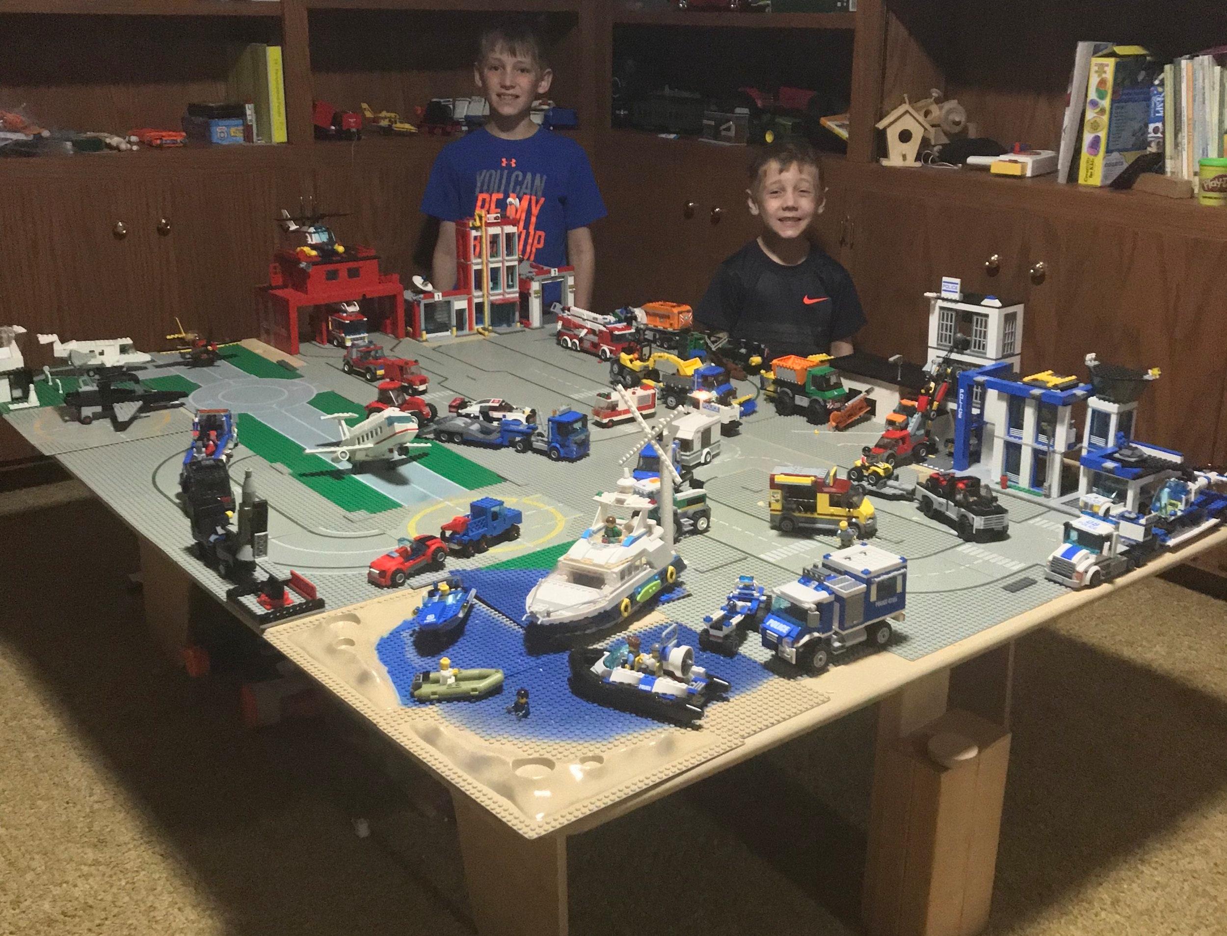 David and Declan's Legos
