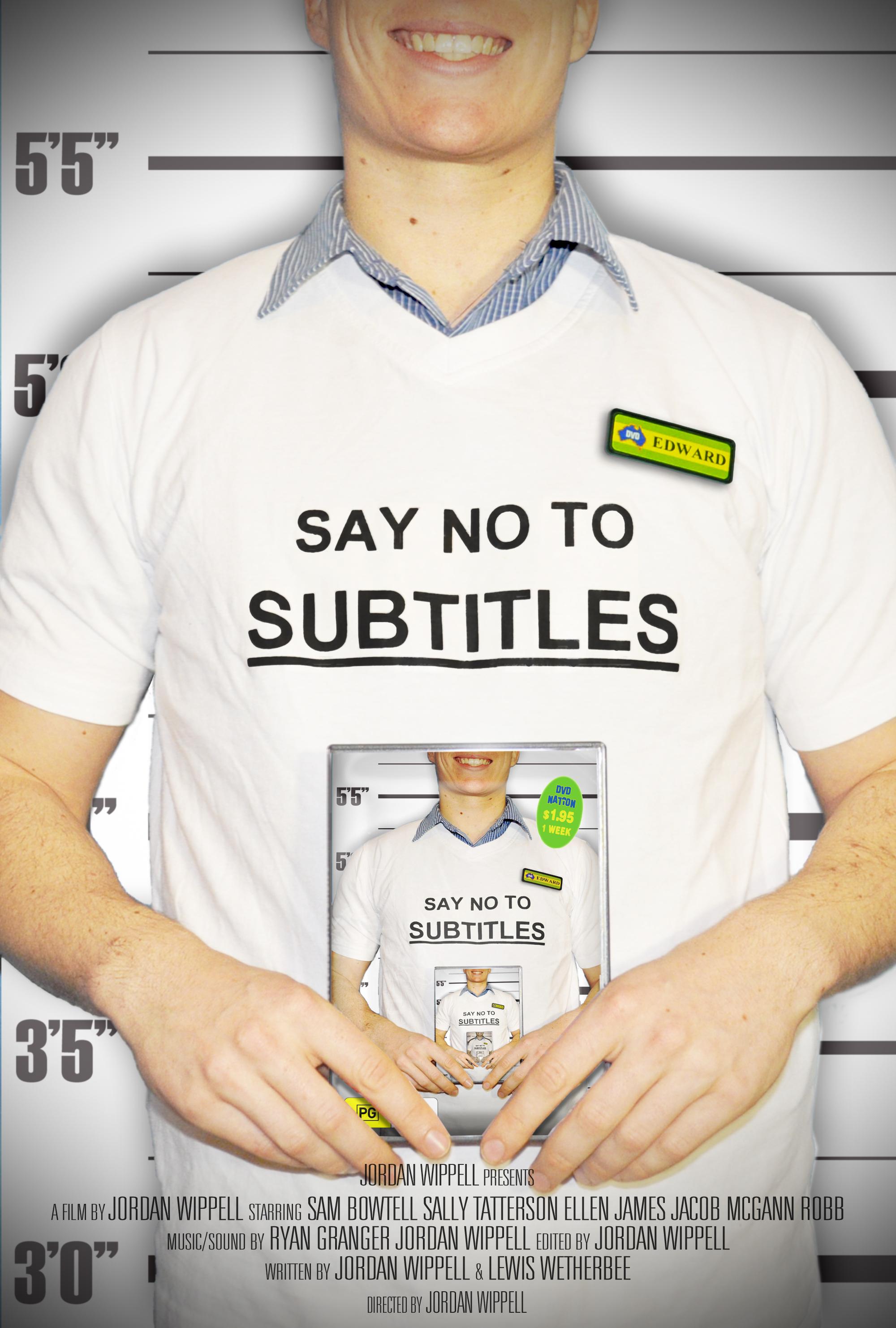 say no to subtitles (2013)