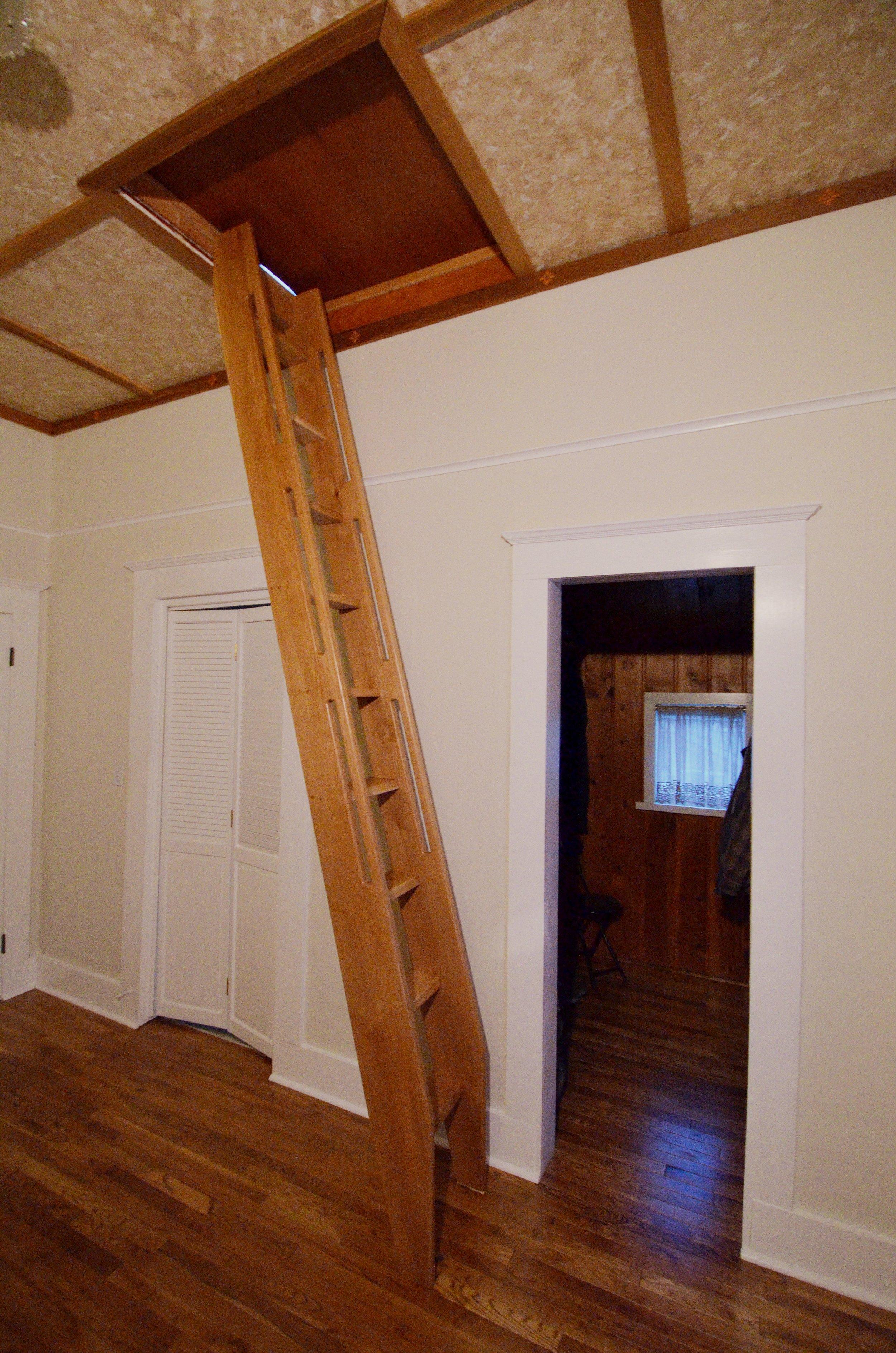 oak ship ladder
