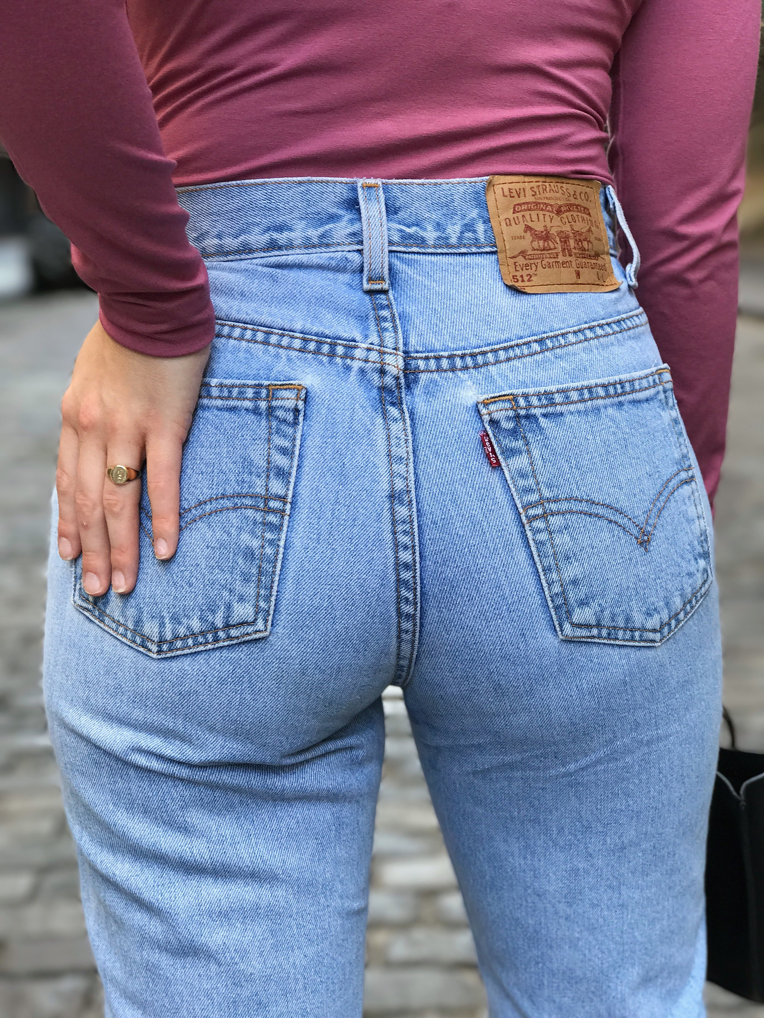 Vintage Levi's Jeans from L Train Vintage - How to Shop for Vintage Jeans When You're Petite & Curvy