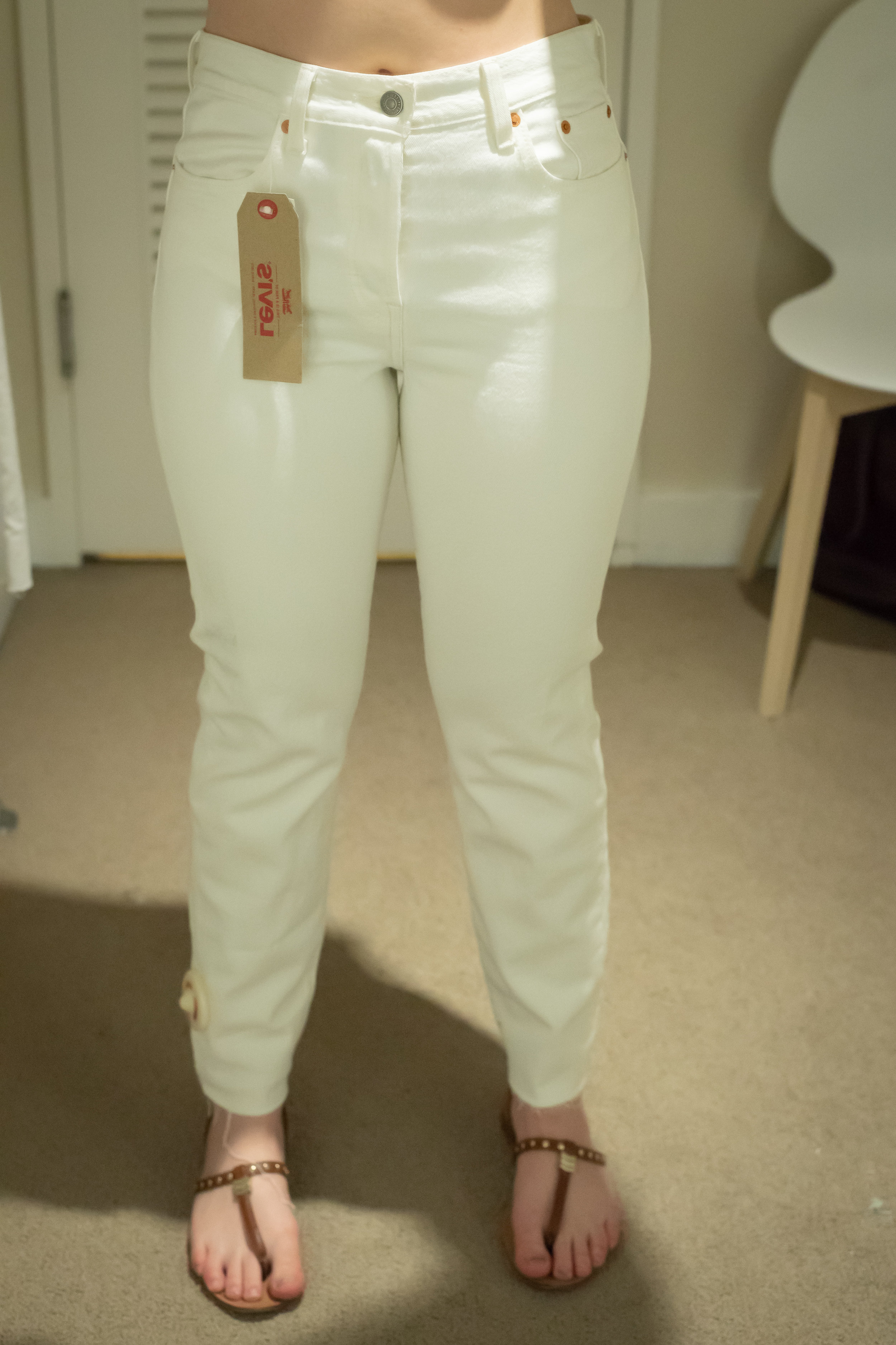 Levi's Wedgie Fit Jeans - Size 29 - Front View