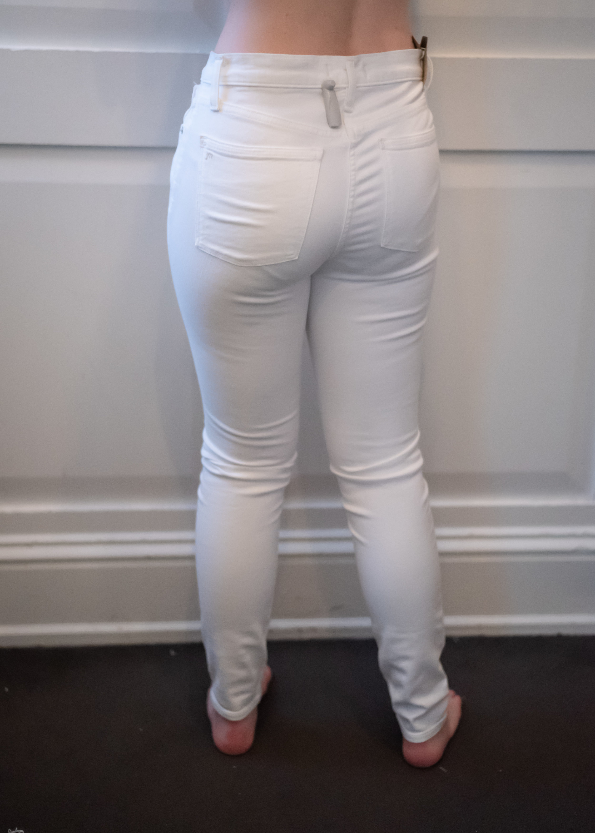 Madewell High Rise Skinny Jeans - Size 28 - Back View