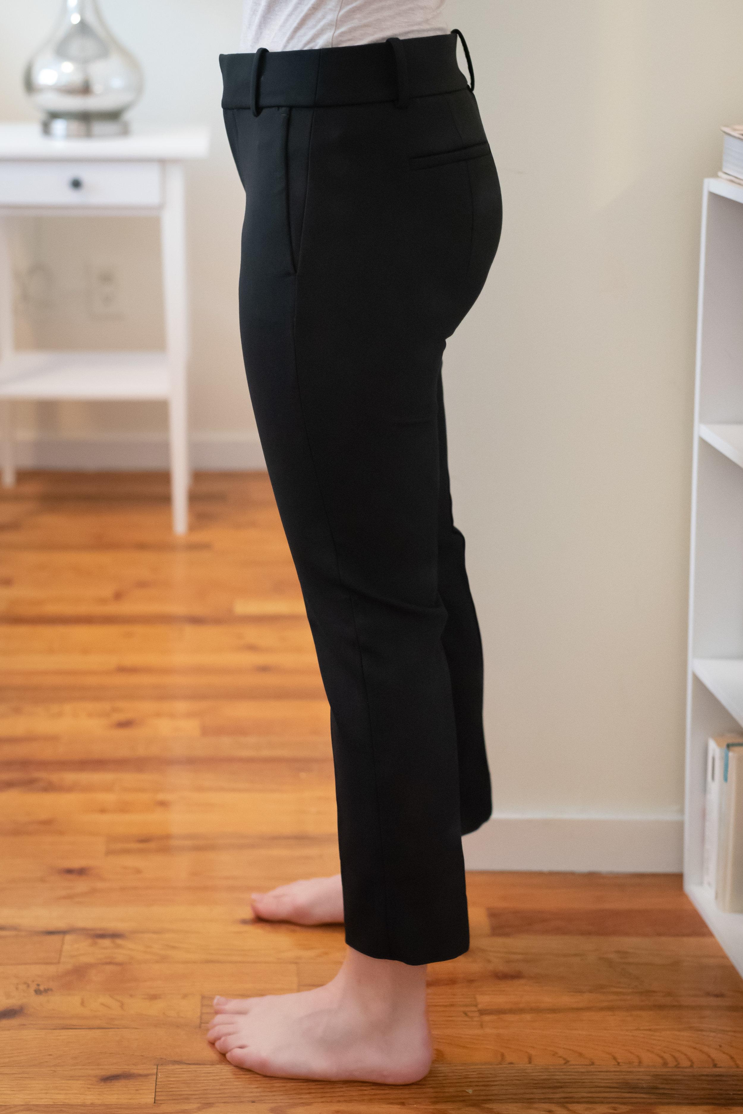 J. Crew Cameron Slim Crop Pant - Size 6 Petite - Side View