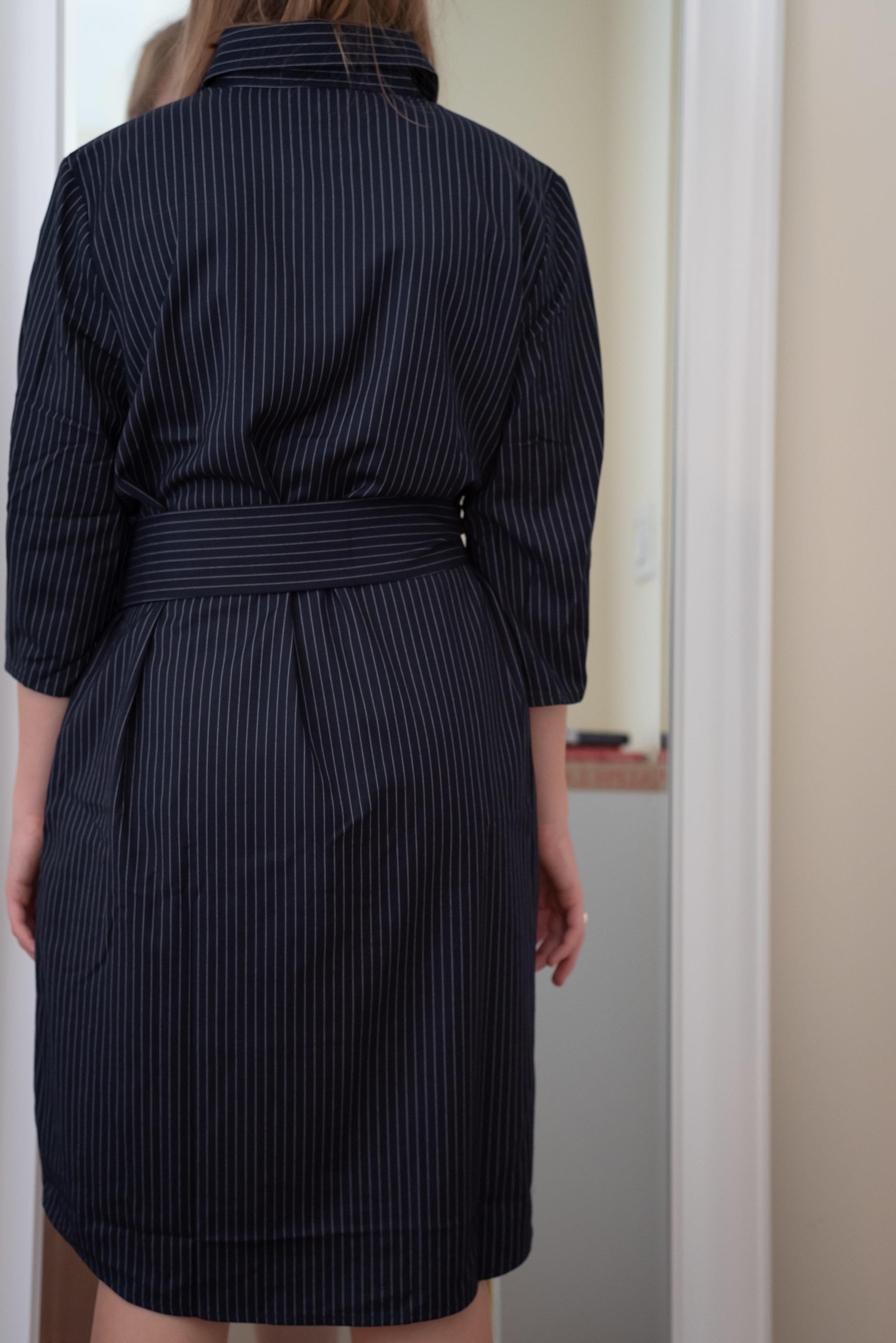 Petite Studio Rococo Dress - Size Petite M - BACK