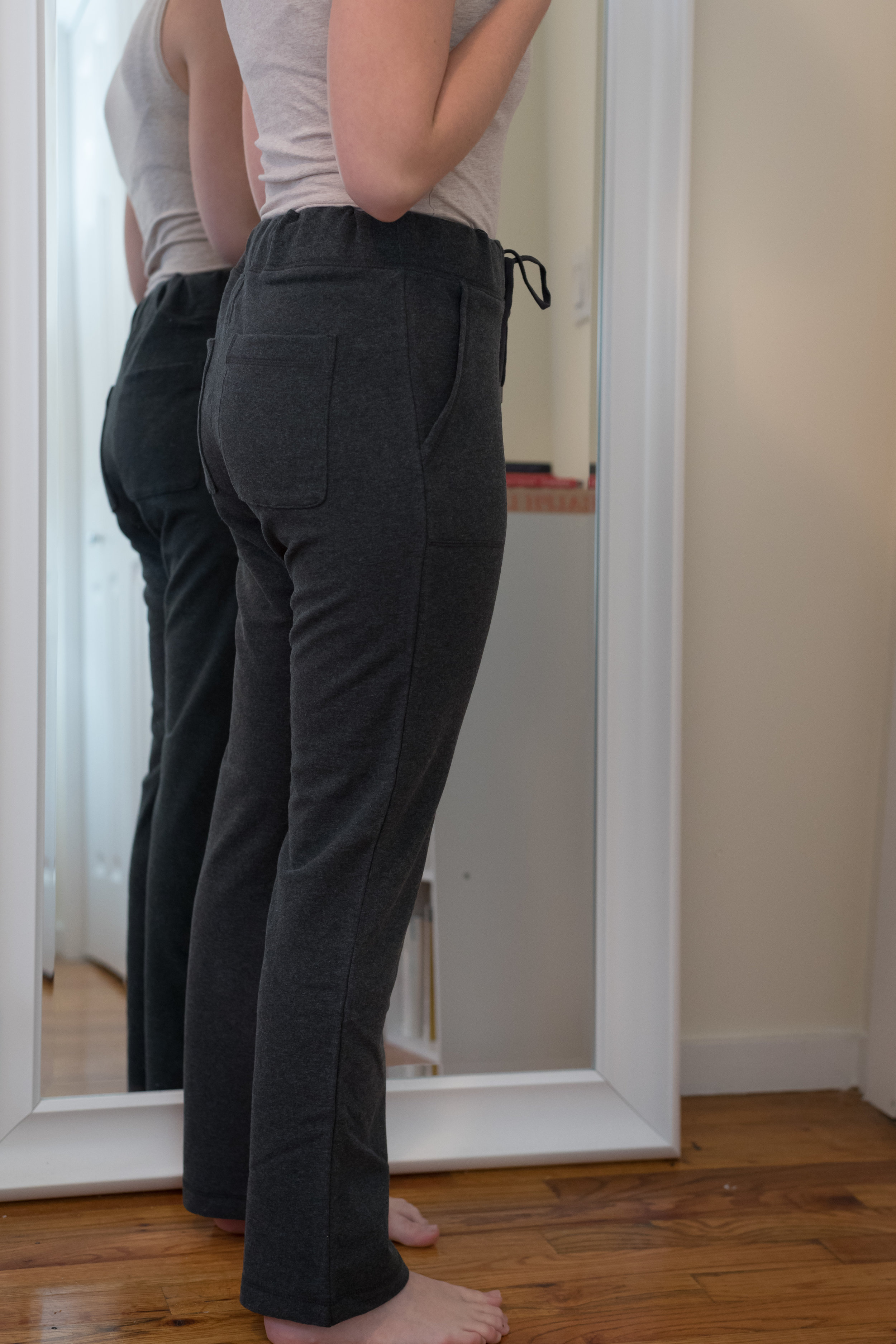 L.L. Bean Ultrasoft Sweats Straight Leg Petite - Size S Petite - Side View