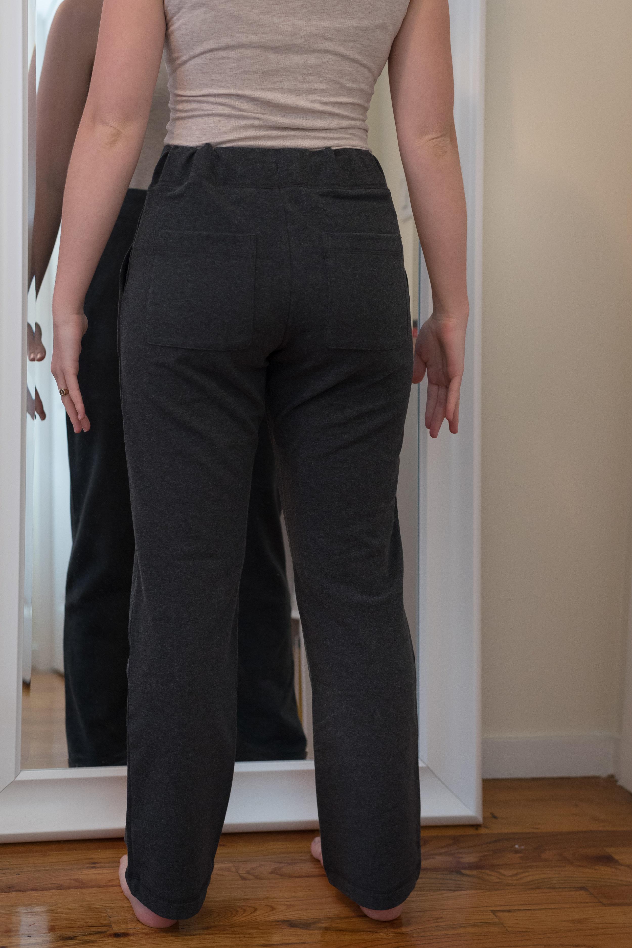 L.L. Bean Ultrasoft Sweats Straight Leg Petite - Size S Petite - Back View