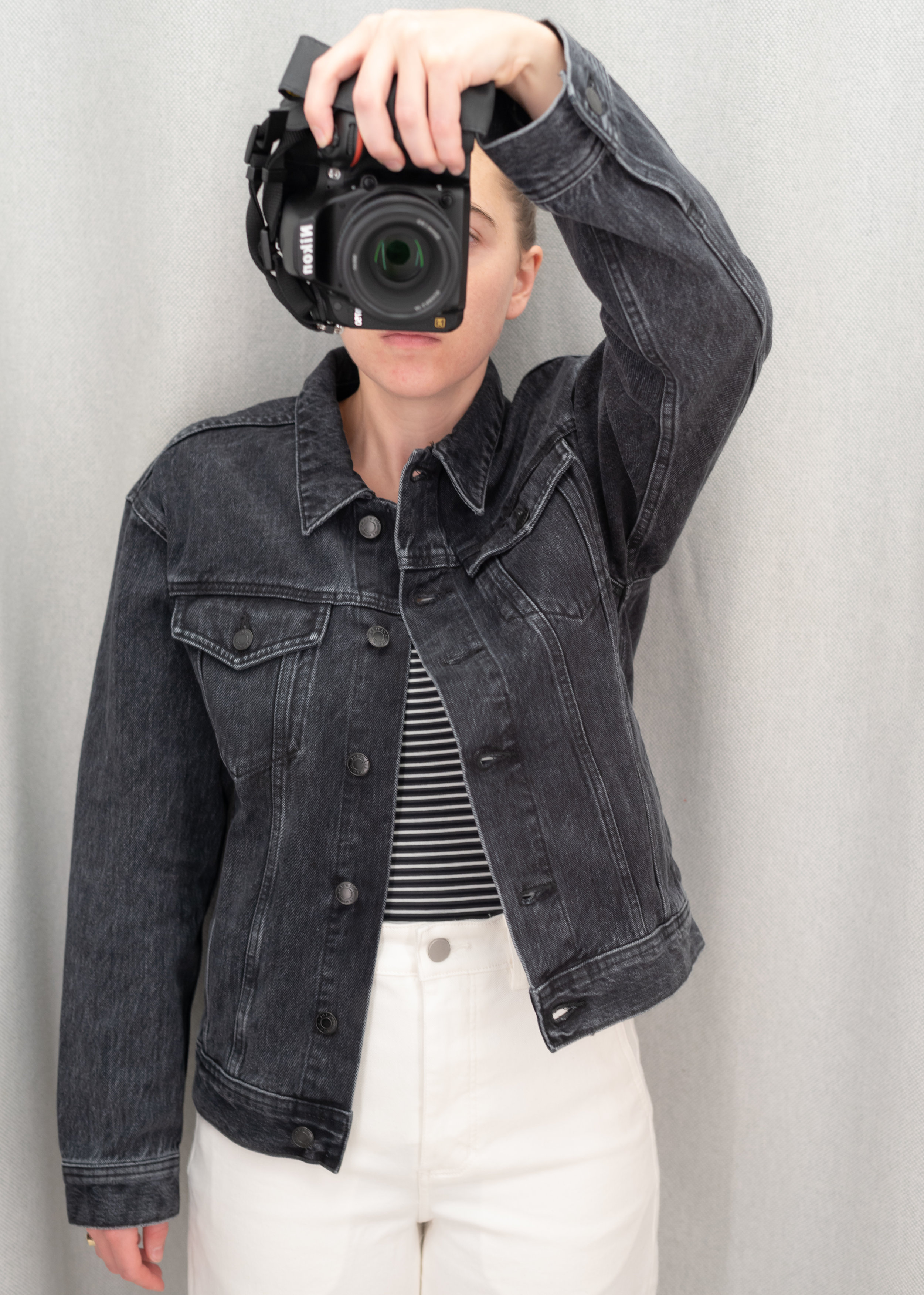 Everlane The Denim Jacket - Size S - Front View