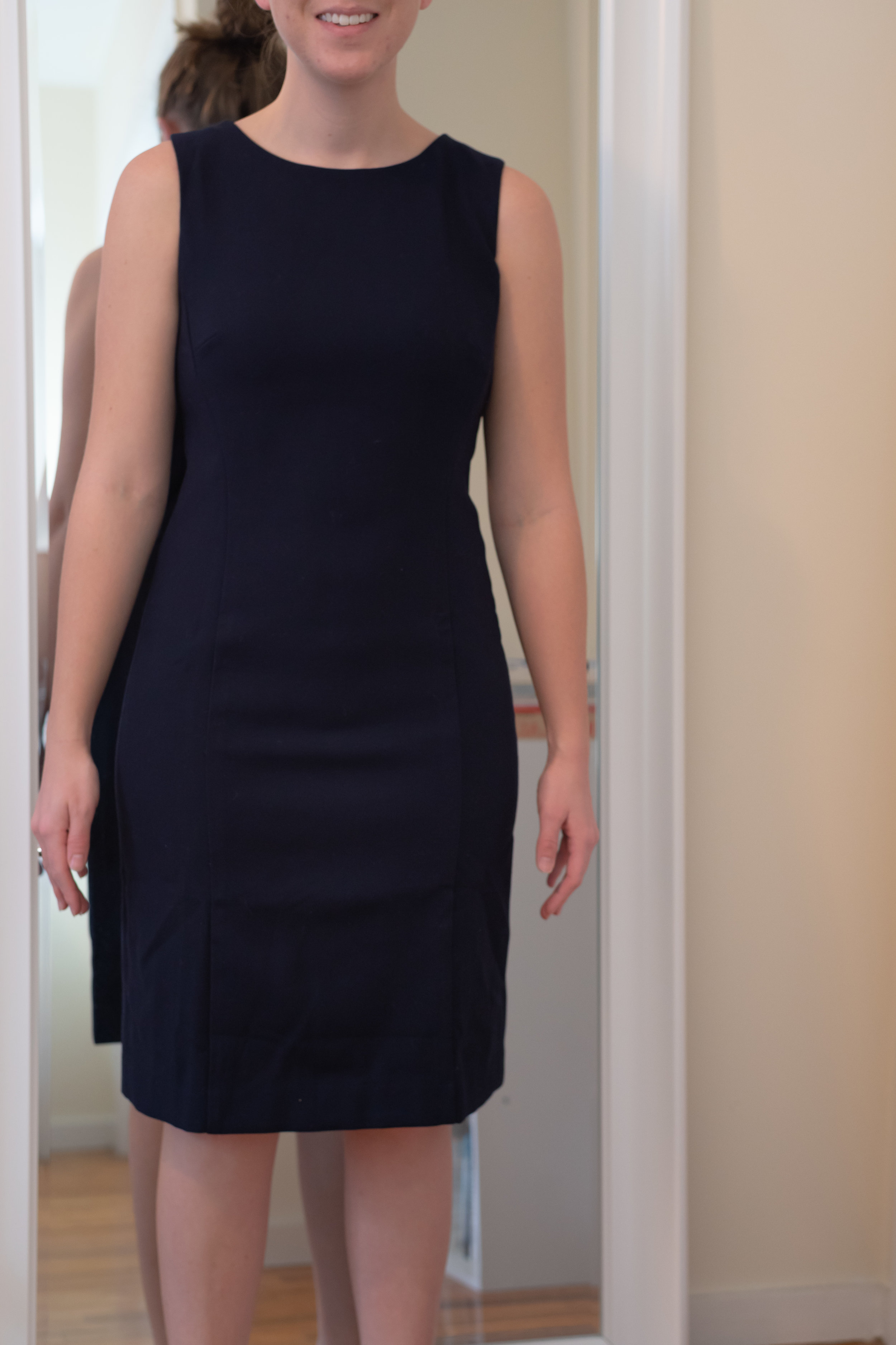 J. Crew Petite Long Sheath Dress - Size 4 Petite