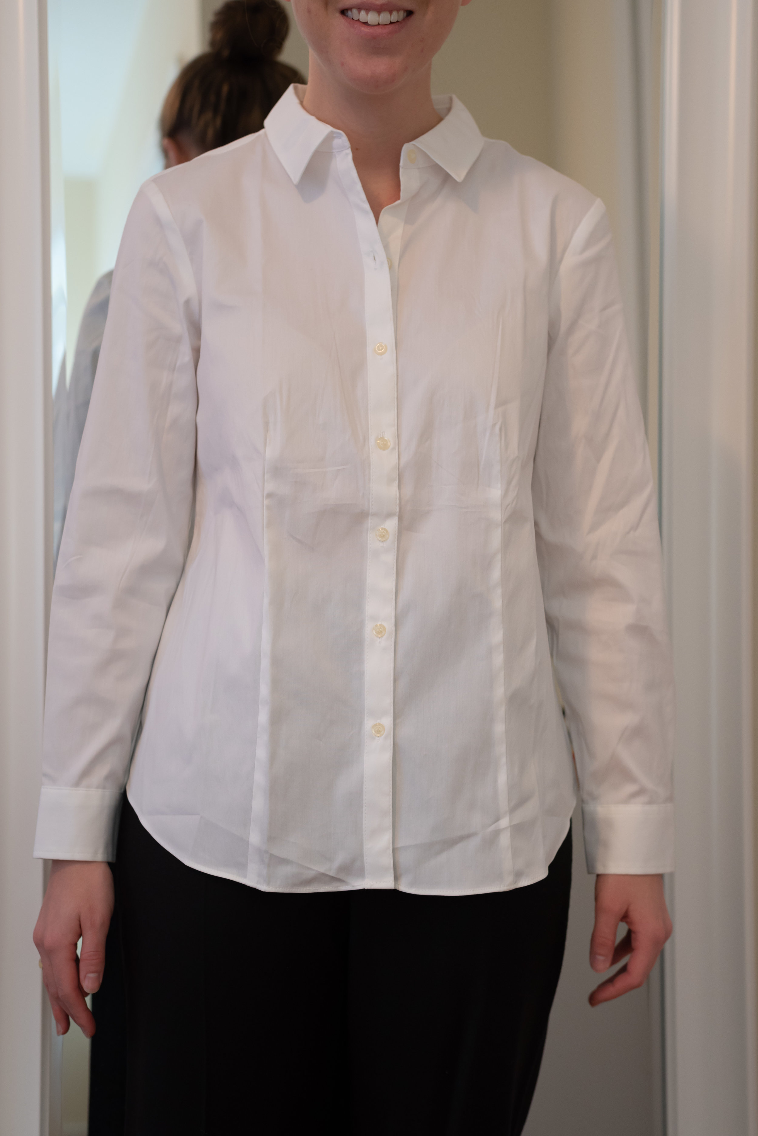 Charter Club Petite Button-Down Woven Shirt - Size 6 Petite