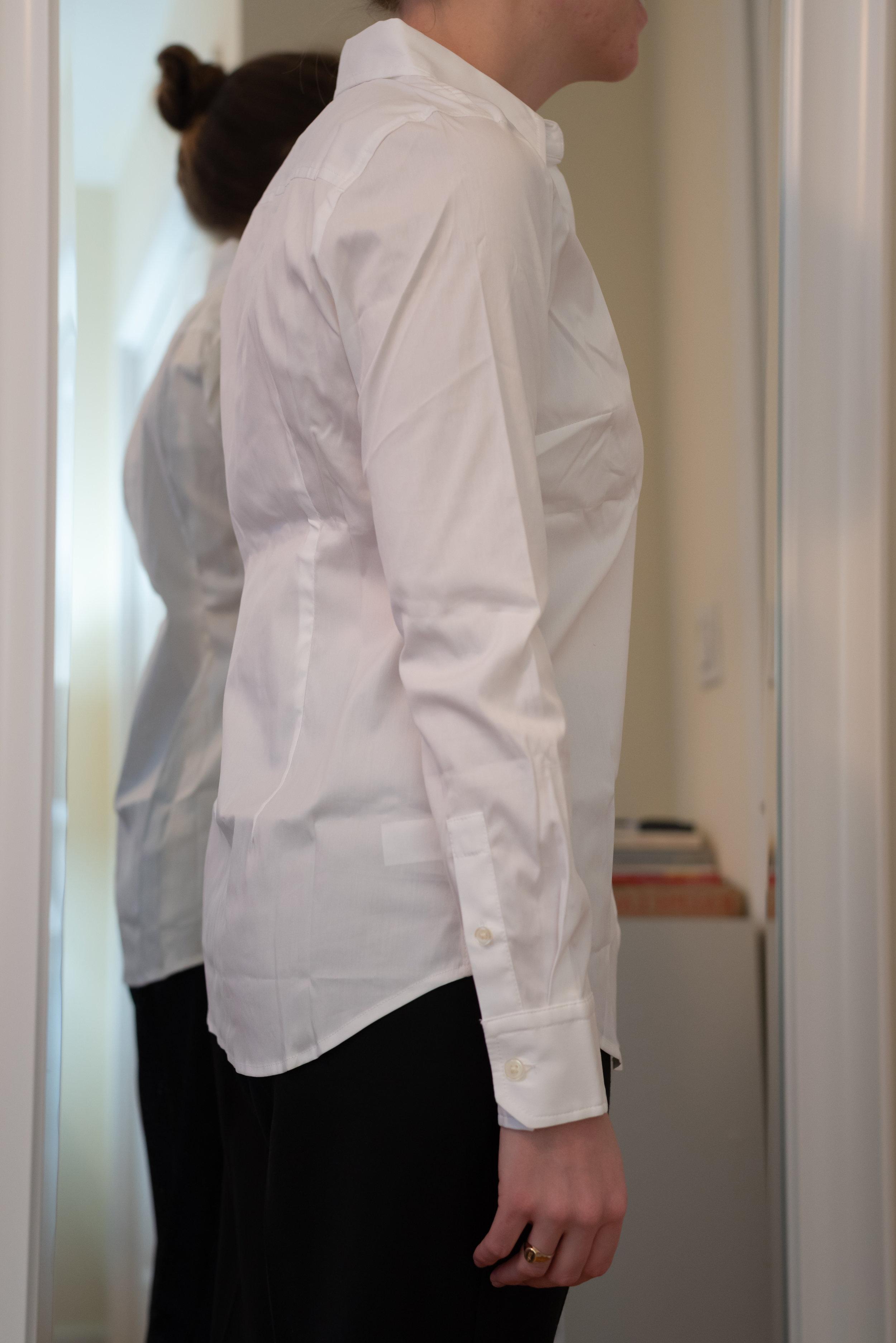 Ann Taylor Petite Perfect Shirt - Size 4 Petite