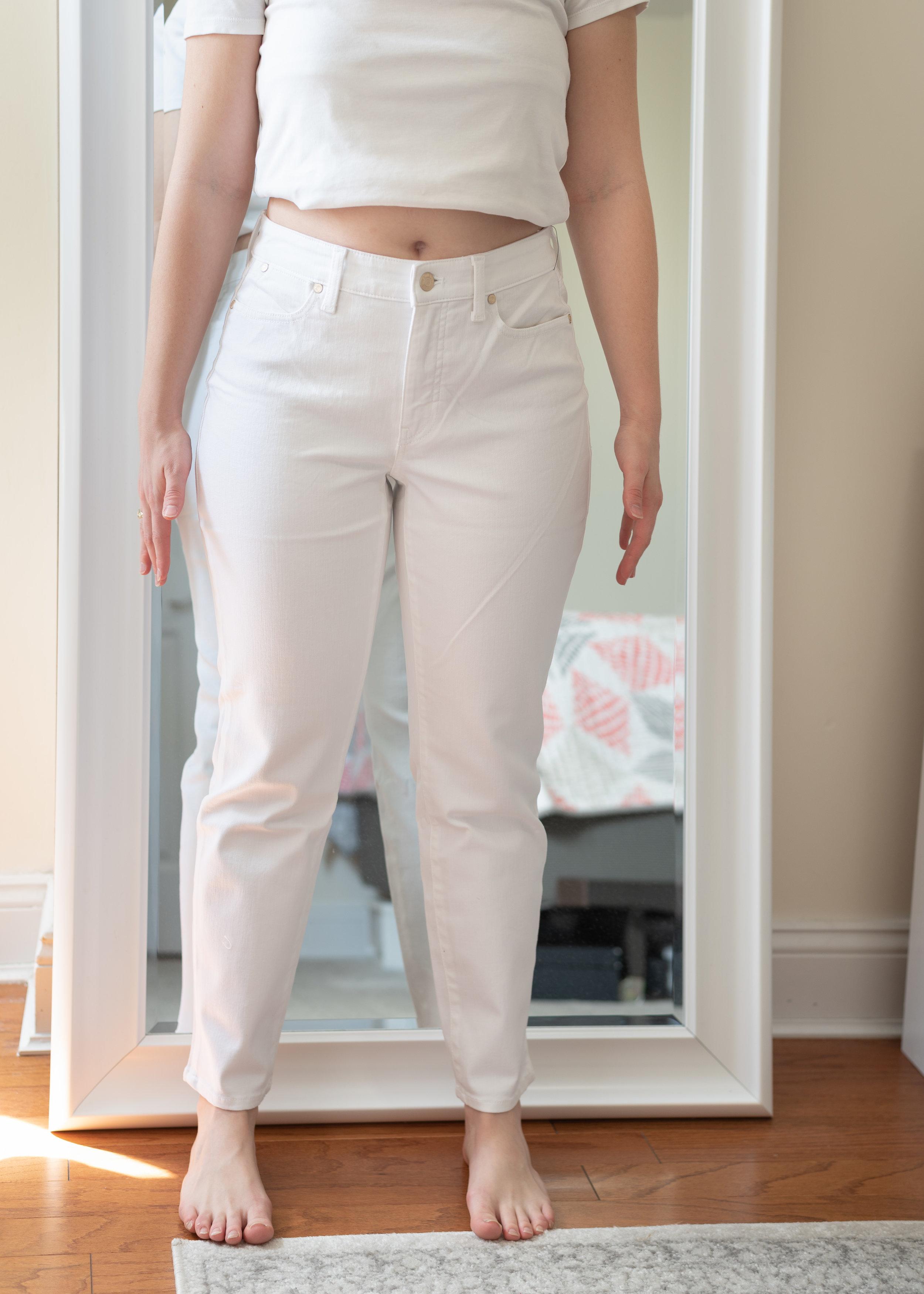 Talbots Curvy Fit Slim Leg Ankle Jeans - Size 6 Petite