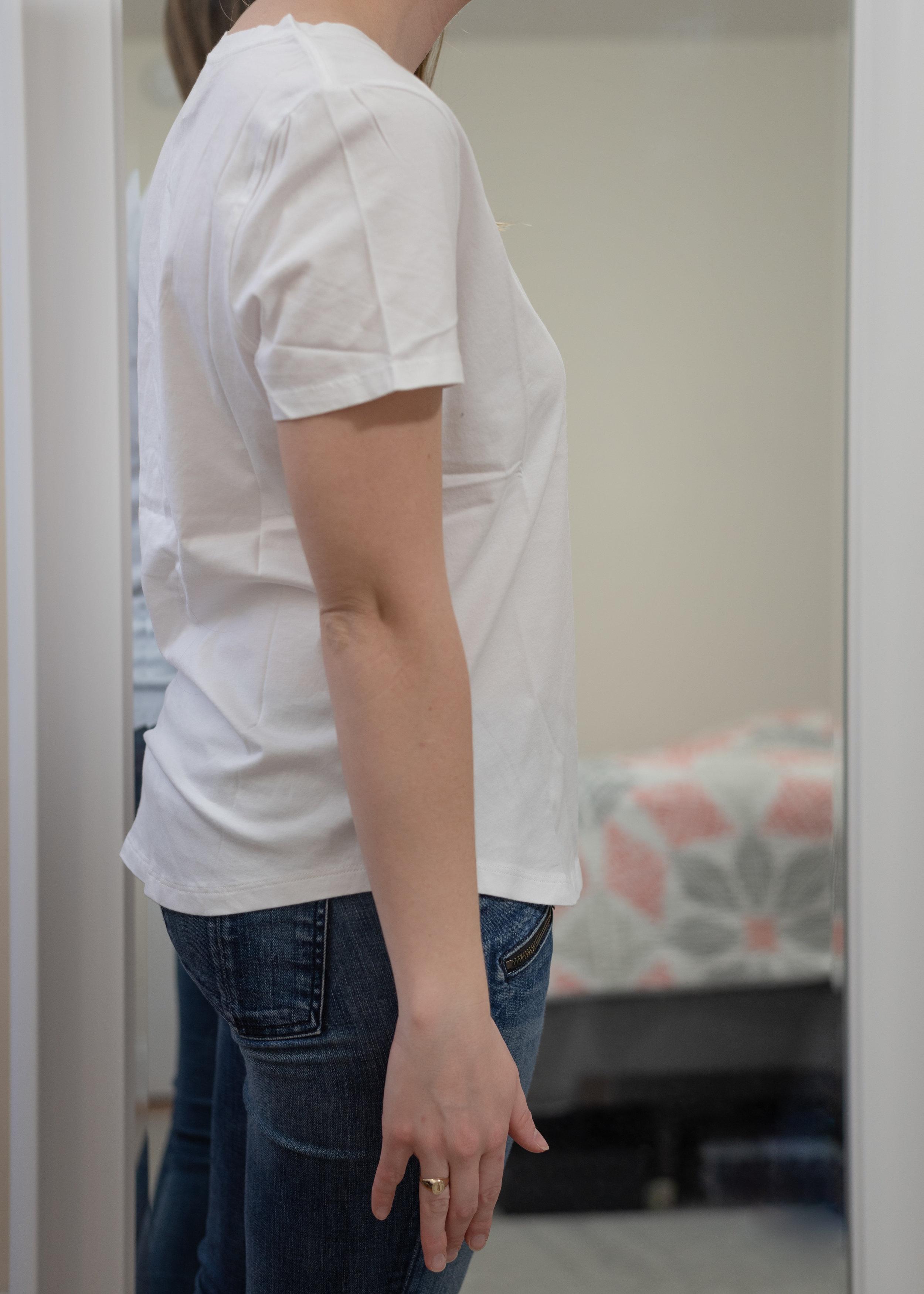 Banana Republic Petite Supima® Cotton V-Neck T-Shirt - Size Petite Small (link to regular size since petite sold out)