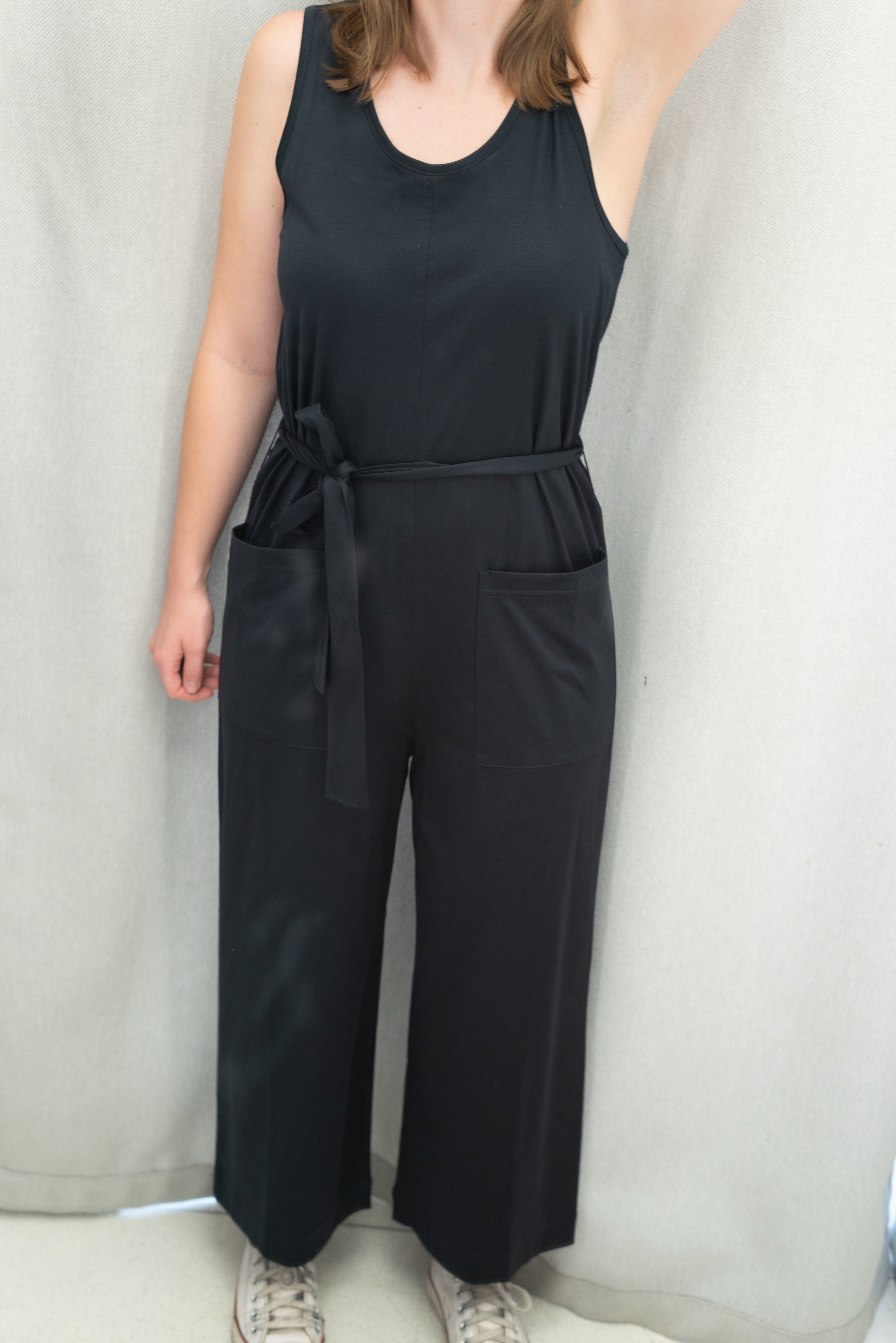 Everlane The Luxe Cotton Jumpsuit - Size S