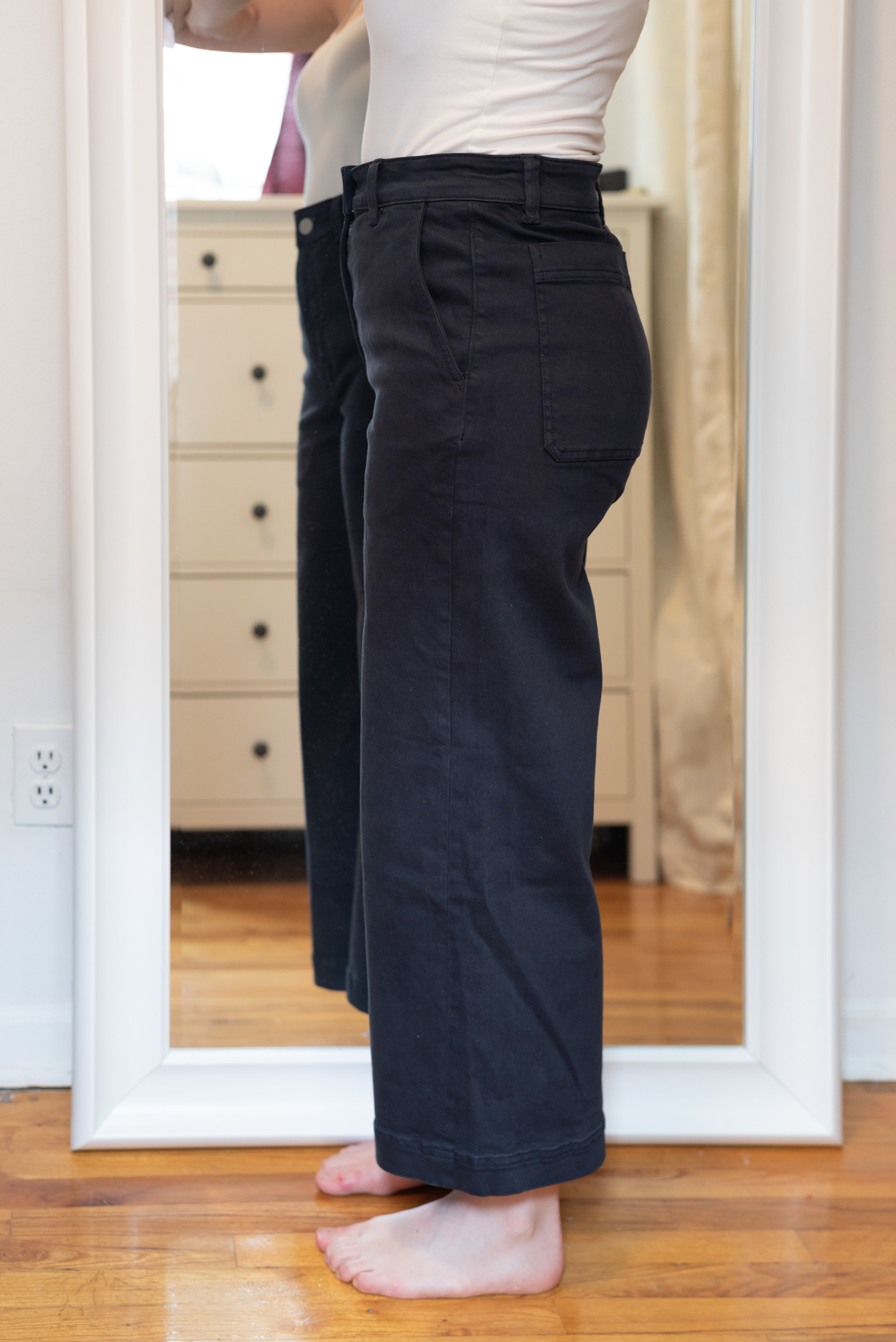 Everlane Wide Leg Crop Pant - Size 6 Short