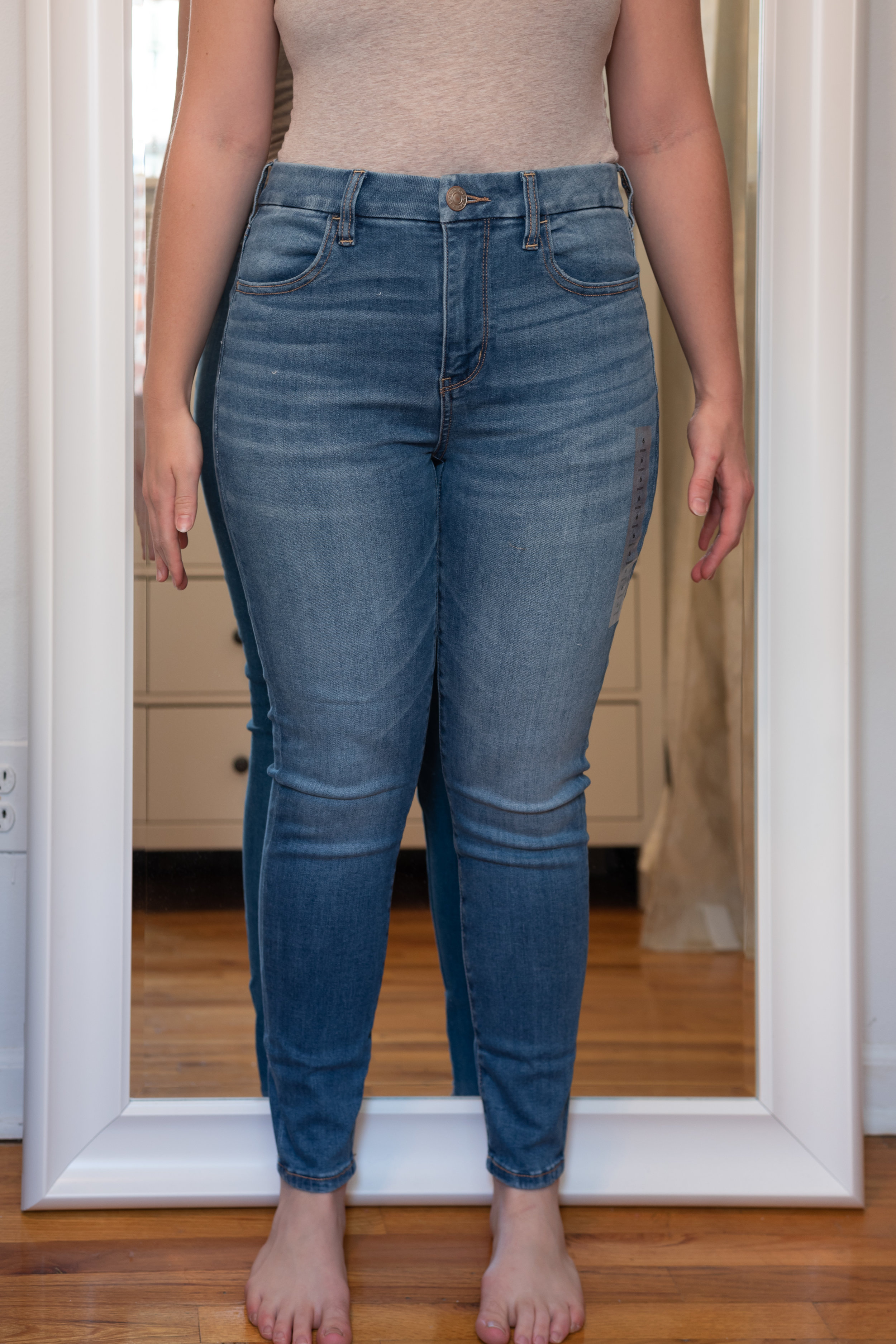 American Eagle Ne(X)t Level Curvy High Rise Jegging - Size 6 Short