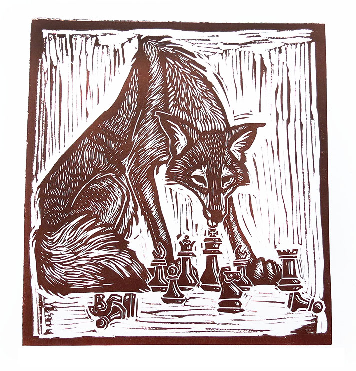 Coyote Plays Chess