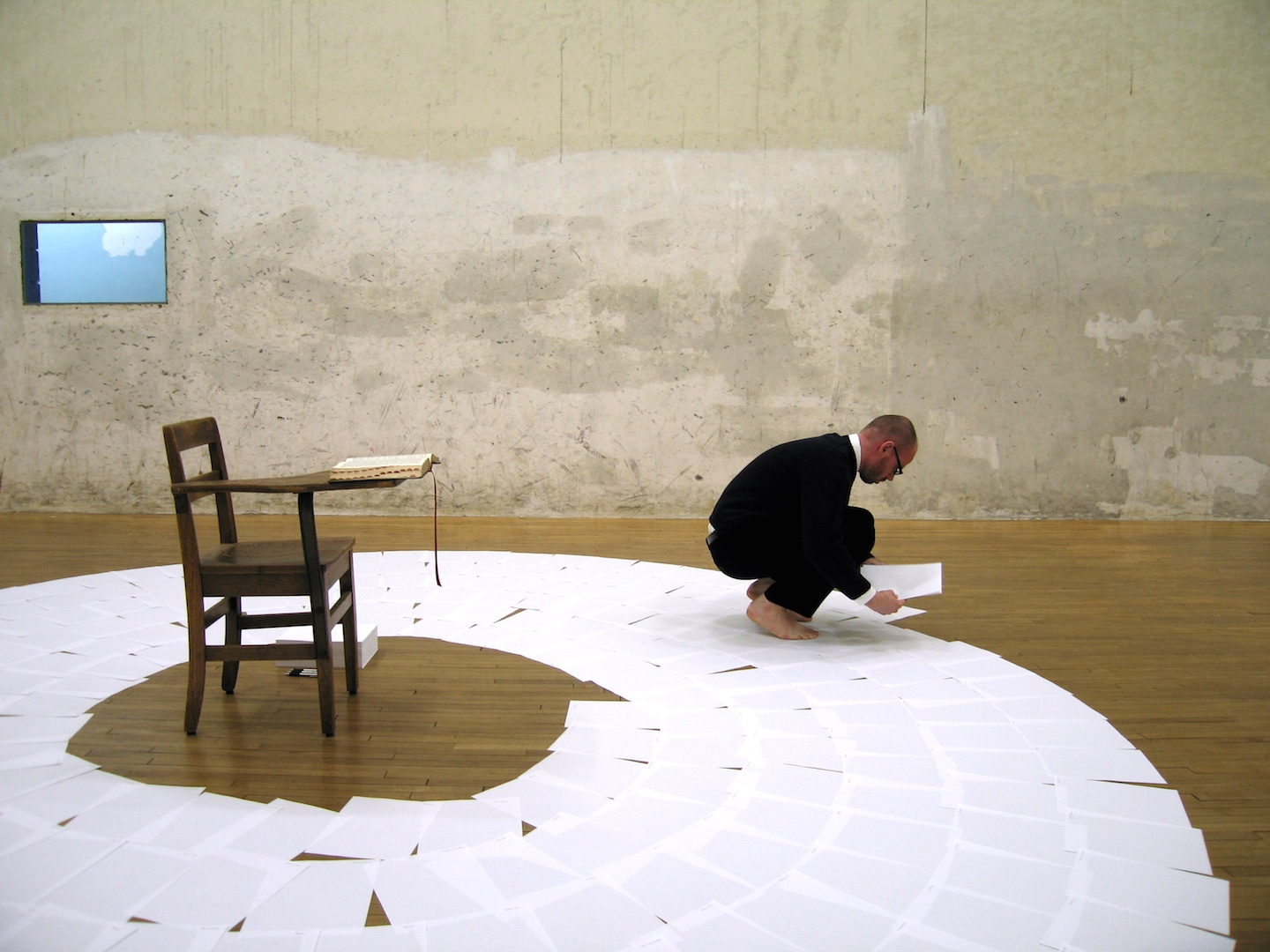 Indexical Scale , 2005  Performance Art