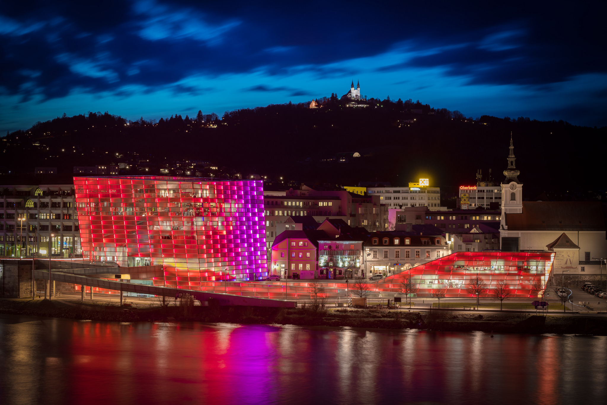 ARS ELECTRONICA Center, Linz, Austria. Photo credit, Ars Electronica / Robert Bauernhansl.