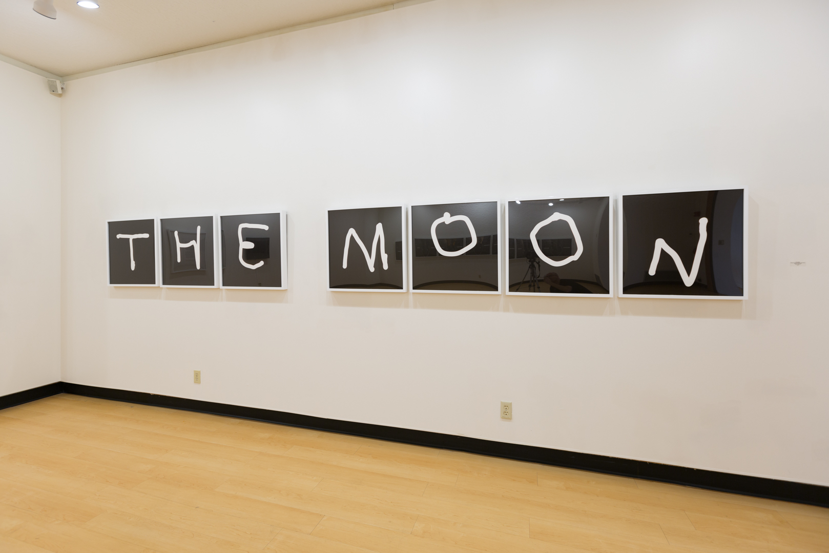 "Writing the Name of the Moon with the Moon , 2019  Archival Inkjet Prints 25.75"" x 197.75"""