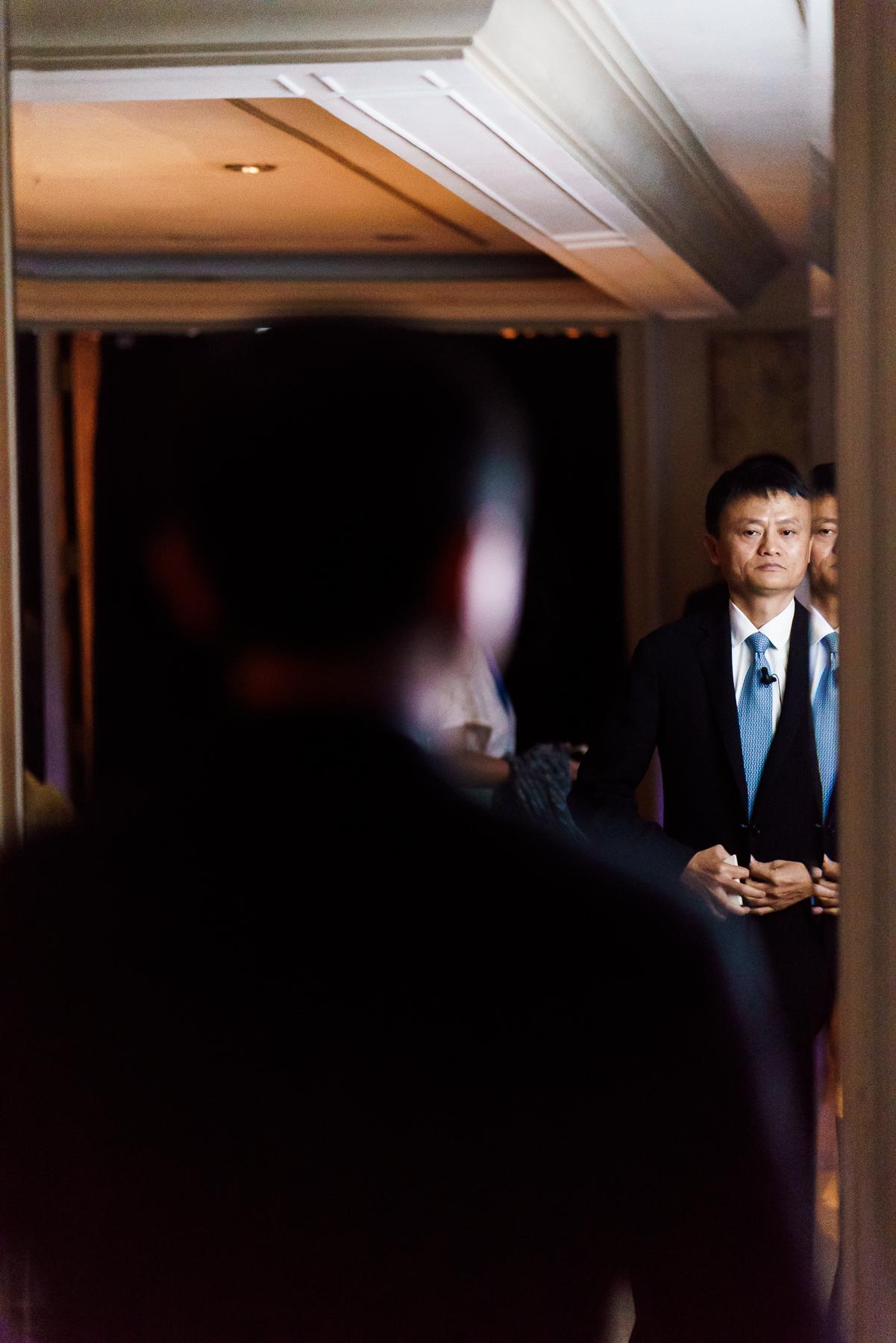 Jack Ma, richest man in China, November 2015.