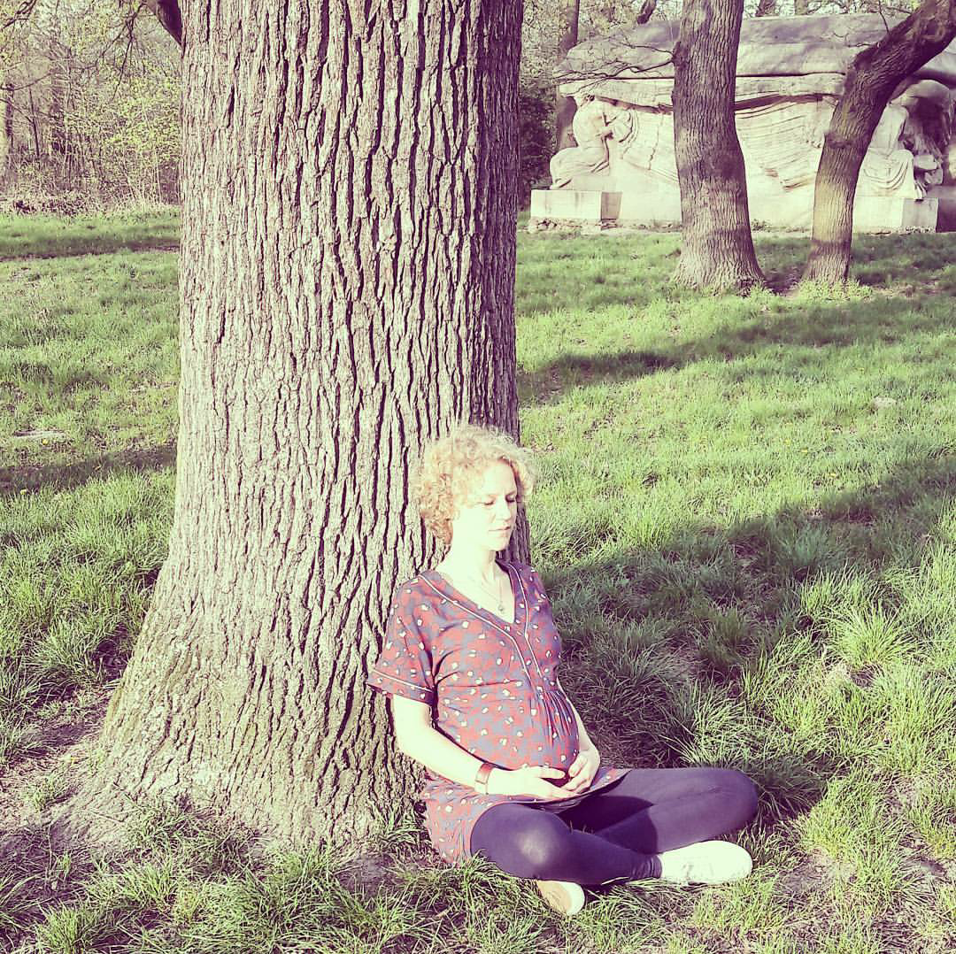 Meditating in the bois de Vincennes
