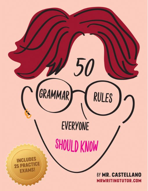 50 Grammar Rules Everyone Should Know  will be published in January 2019.