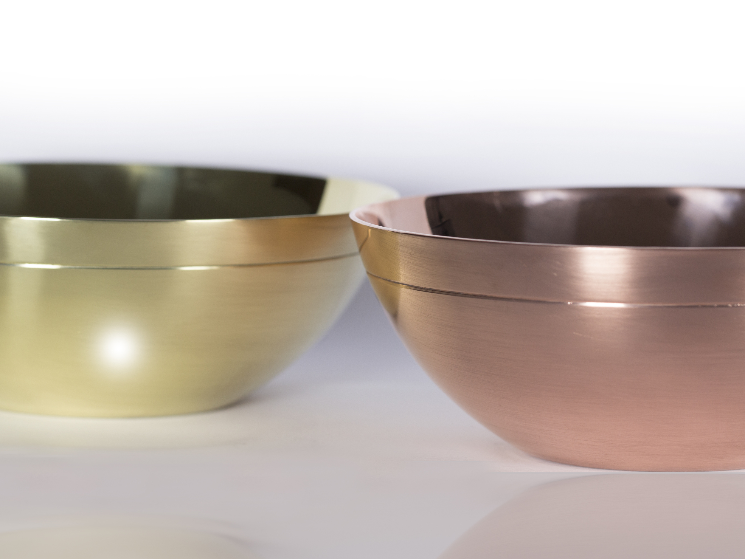 Spun Copper and Brass   New product in! We are excited to introduce our hand spun range of bowls from 100% Copper and Brass. More spun products out soon!