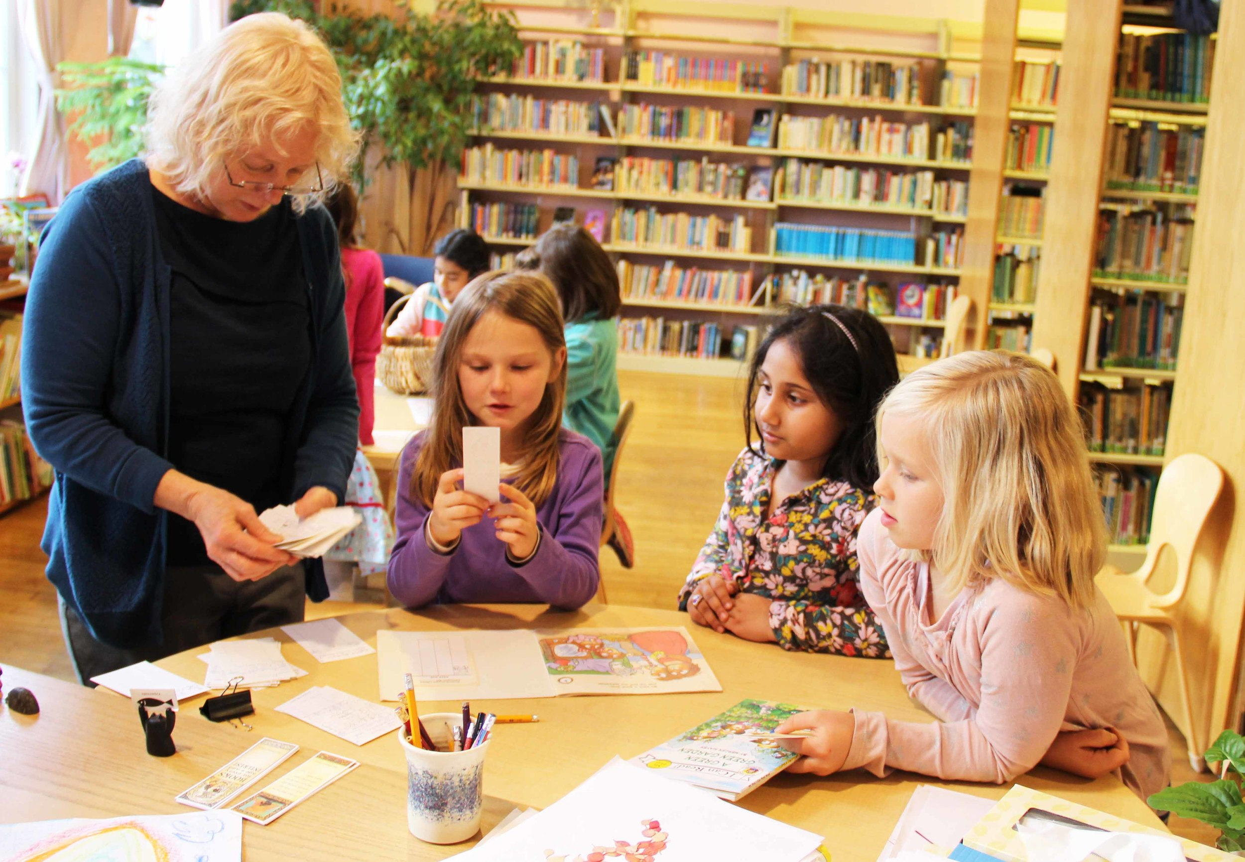 The WSL library is an oasis of light, literacy and learning.