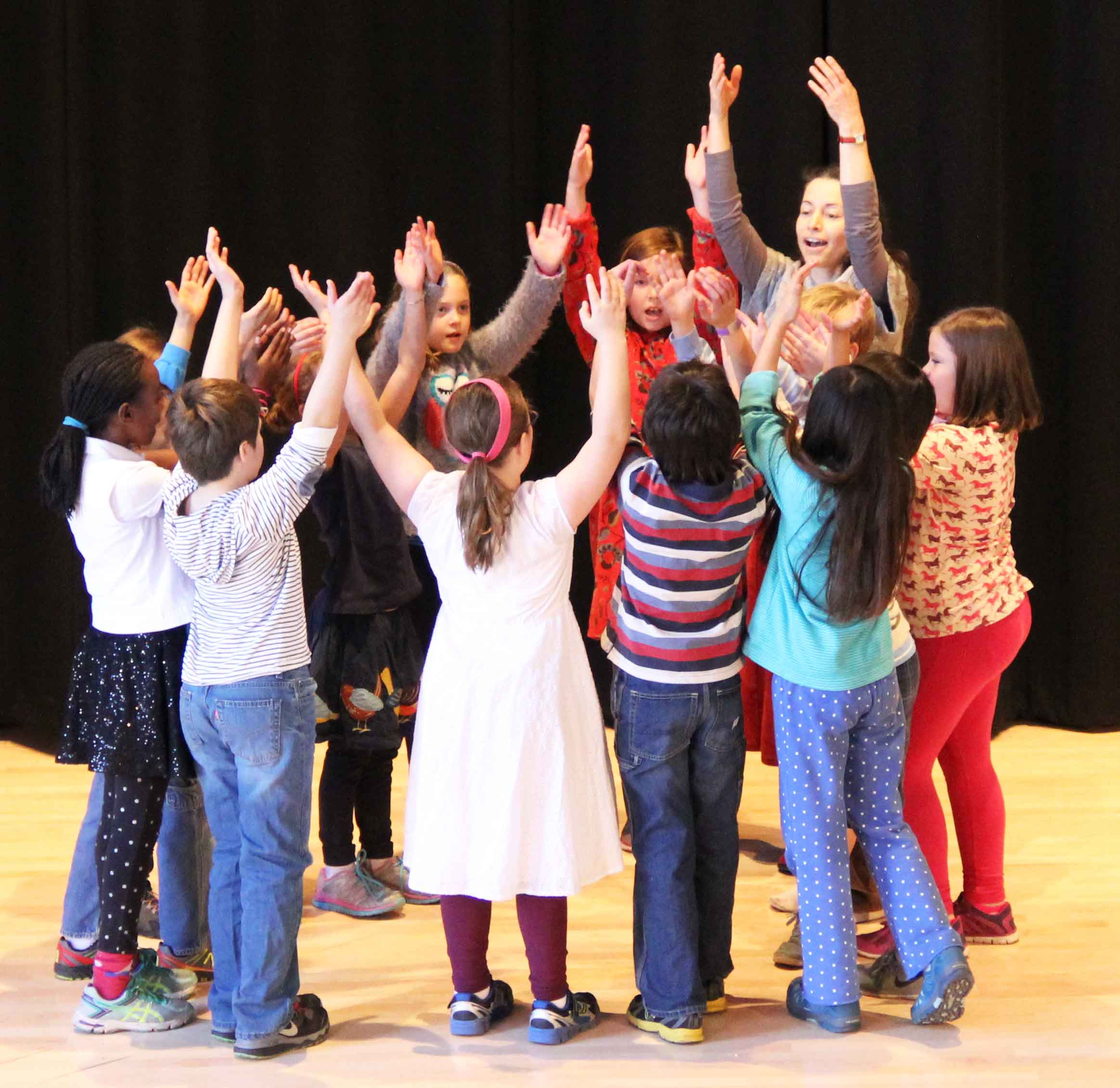 The grace and exuberance of eurythmy, performed with live classical piano music, is another unique hallmark of Waldorf education.