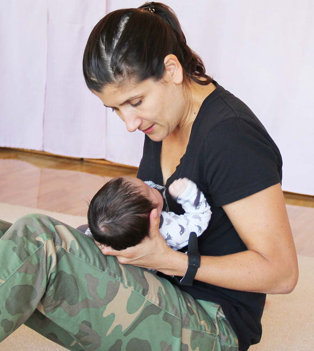 WSL's parent-child classes provide a supportive environment for new moms