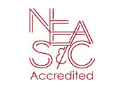 Logo for the New England Association of Schools and Colleges