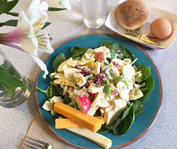 Of course we occasionally serve...Waldorf Salad!