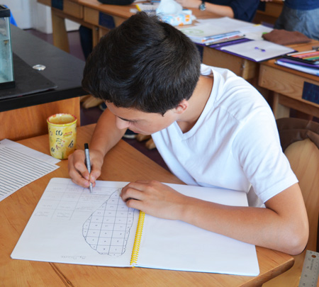 An 8th grade physics lesson