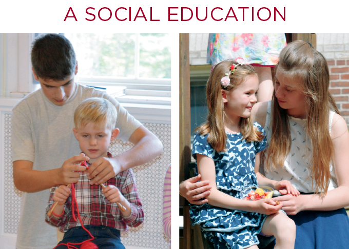 """""""What every parent would wish as the best for his or her children, Waldorf education provides. The fullest development of intelligent, imaginative, self-confident and caring persons is the aim of Waldorf education.""""  — Douglas Sloan, Professor Emeritus, Columbia University"""