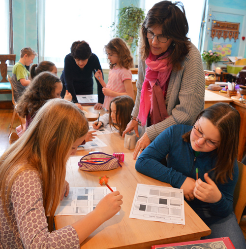 At WSL, students often work collaboratively, while teachers offer personal attention and support.