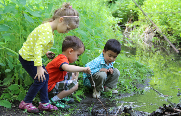 Time outdoors exploring the natural world is a healthy beginning for both boys and girls—and something that is increasingly hard to find as even preschool programs become academically oriented.