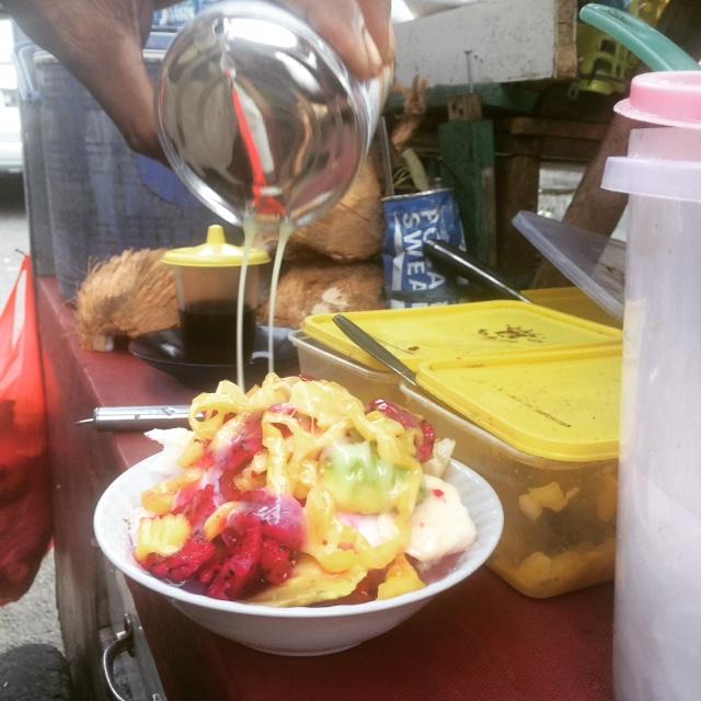 Fruit medley snack on Jalan Surabaya