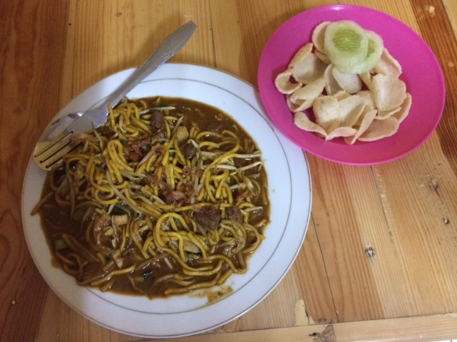 Mie Goreng, a popular meal in Indonesia
