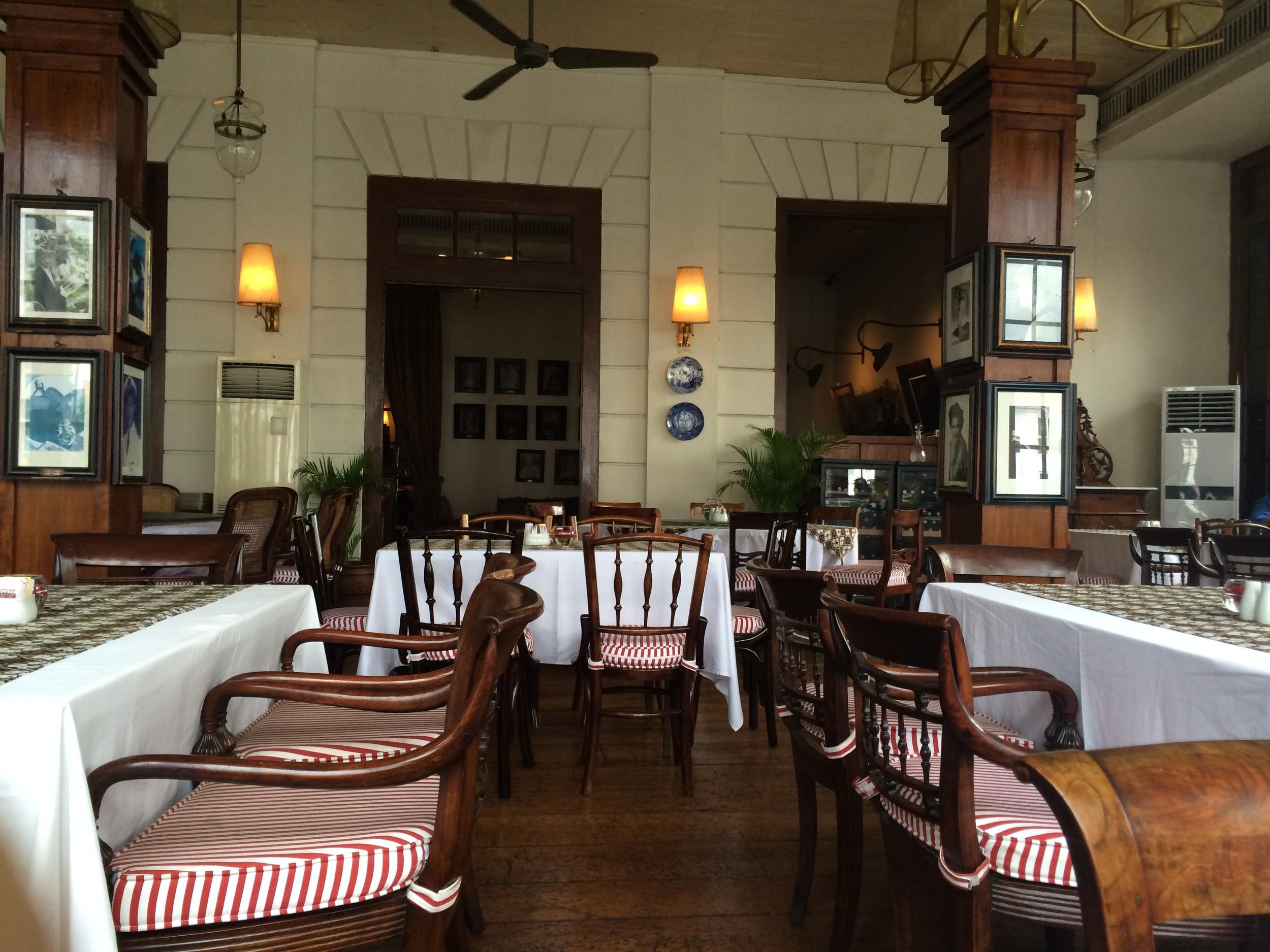 Cafe Batavia - on the inside