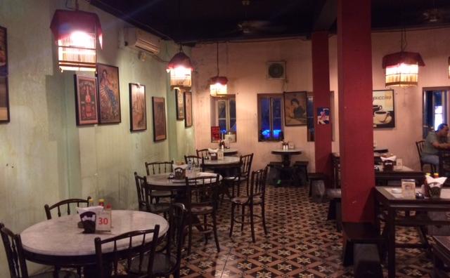 Kopitiam Oey Sabang, trendy cafe restaurant in Central Jakarta