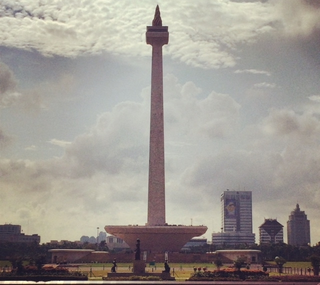 The National Monument, popularly known as Monas