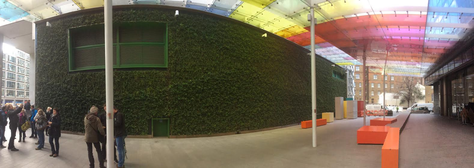 Biotecture green wall - 62 Buckingham Gate  SW1E 6PA
