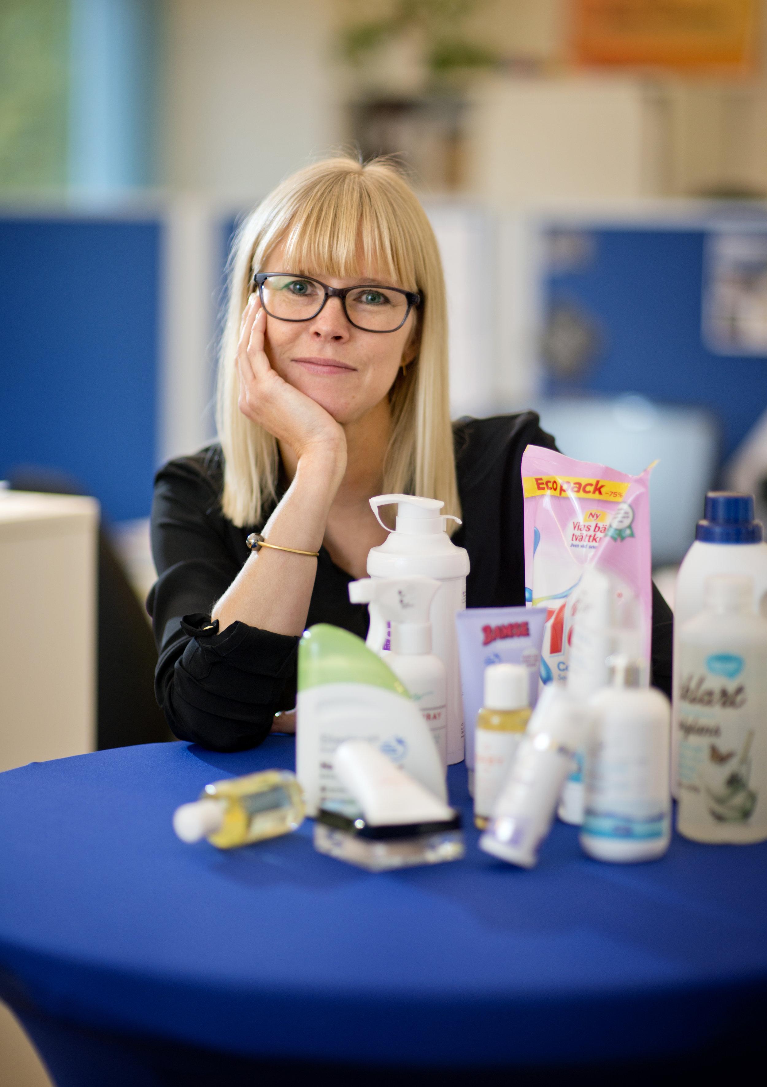 Christine Hanberg   Marknads – och kommunikationsansvarig Astma – och allergiförbundet
