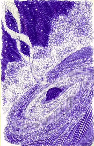 Brooke Wayne,  Sketch IX , 2014