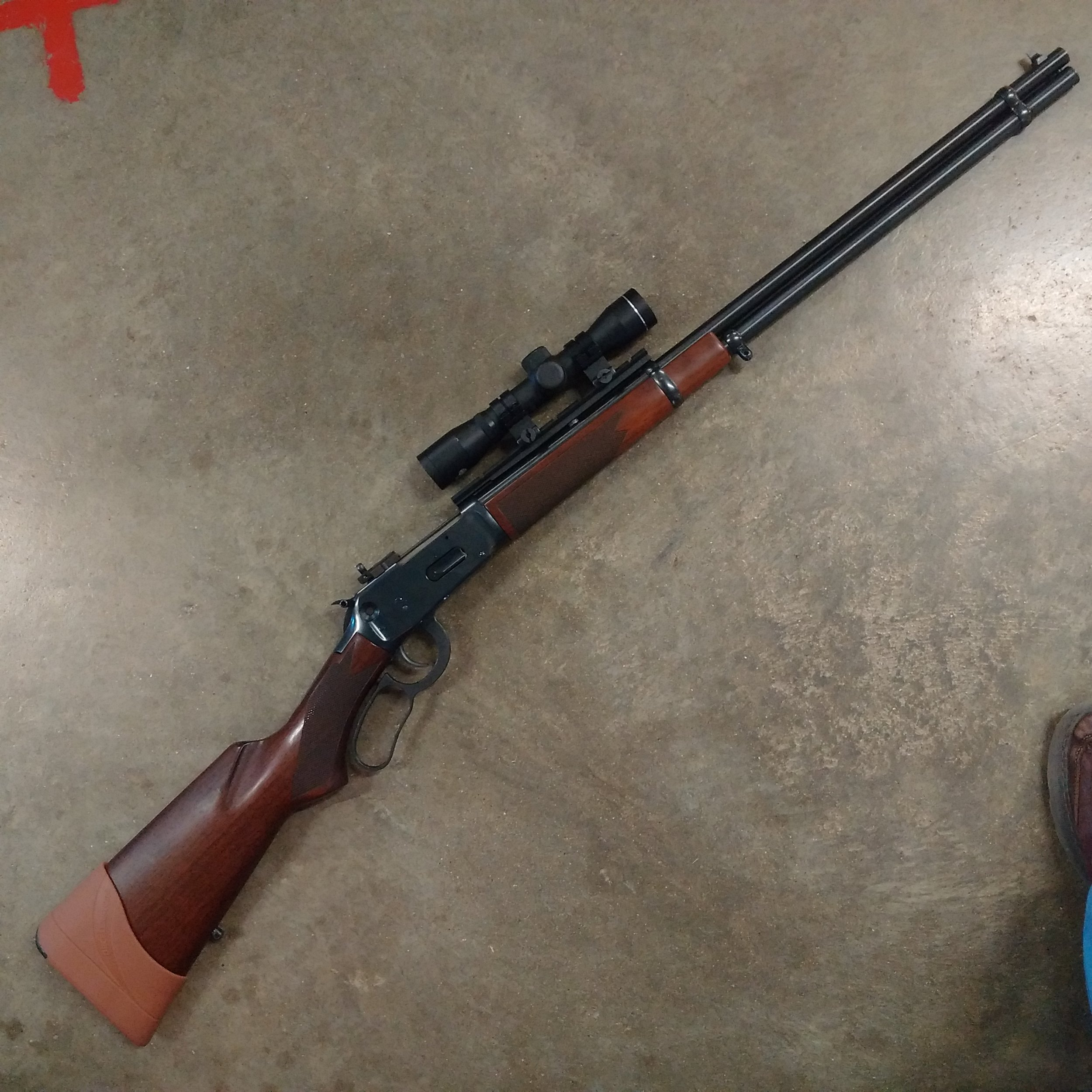 Custom scout mount for Marlin 336